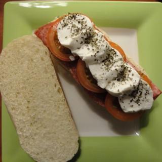 Champignonsoep met lekker broodje