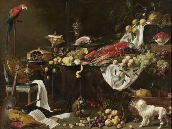 Stilleven, Adriaen van Utrecht, 1644 Rijksmuseum