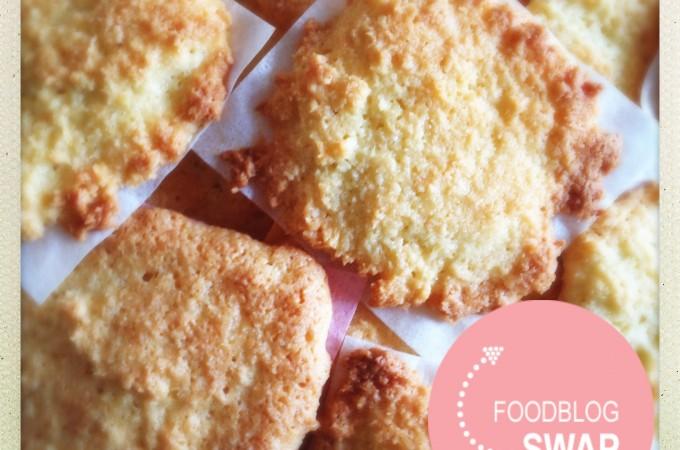 Foodblogswap - Vierkante Kokosmakronen
