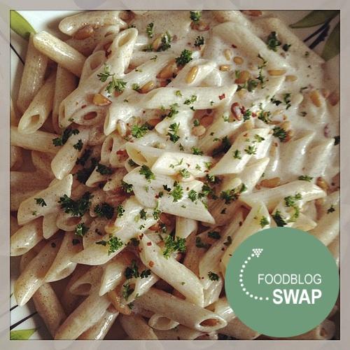 Foodblogswap Noord-Afrikaanse Pastasalade