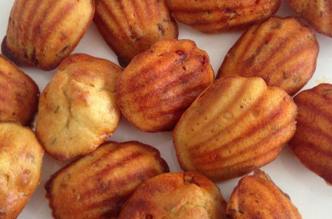 Magdalenas con chorizo y romero (magdalenas met chorizo en rozemarijn)
