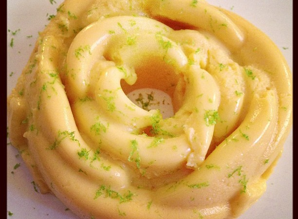 Mangopudding.