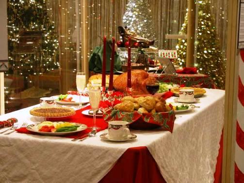 Simpele gerechten voor de feestdagen.