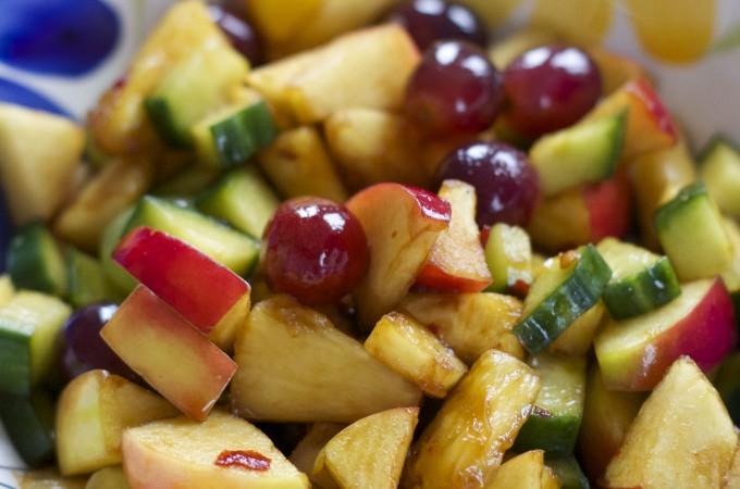 Foodblogswap - Roedjak Fruitsalade