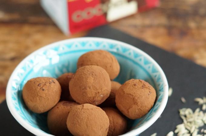 Witte Chocoladetruffels met…venkel!
