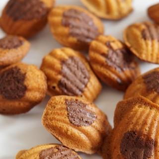 Mini Nutella Madeleines
