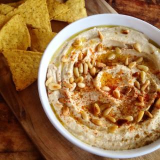 Hummus met Pijnboompitten Zelf Maken