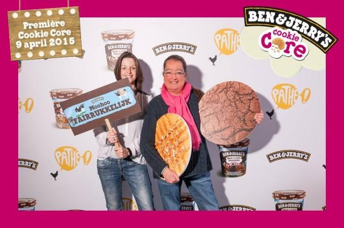 Lancering nieuwe smaken Ben & Jerry's Cookie Core