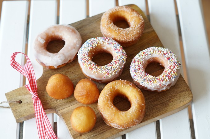 Donuts zelf maken