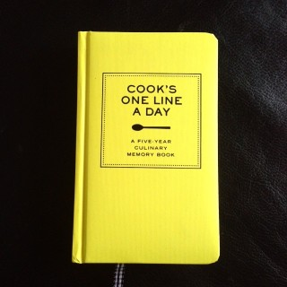 Cook's One Line a Day - 5-jarig dagboek voor Foodies