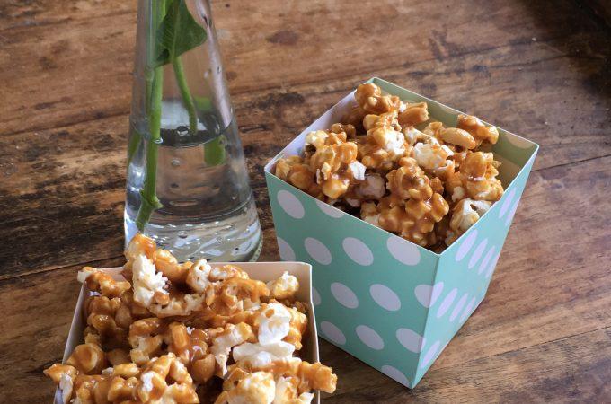 Caramel Popcorn Zelf Maken