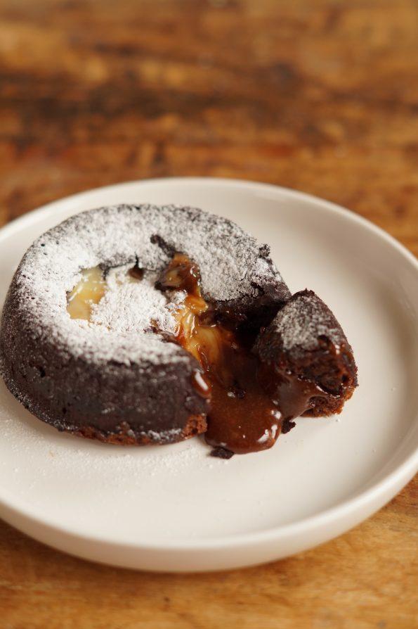 Lava Cake met Dulce de Leche