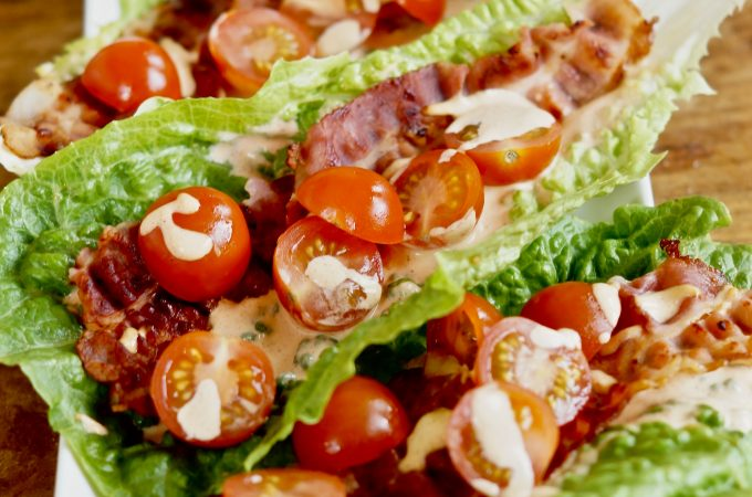 BLT met Chipotle Mayonaise