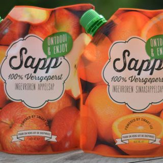 Appel Caramel Smoothie en Sinaasappel Wortel Smoothie + Winactie met Sapp