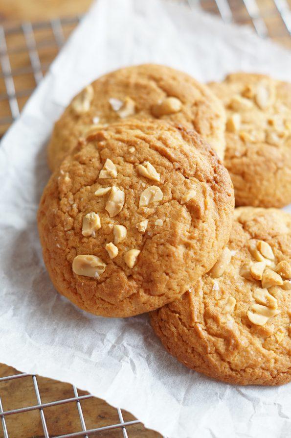 Mr. Kitchen's Karamel-Zeezout Koekjes met Pindakaas