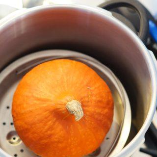 Pompoenpuree maken in de Snelkookpan