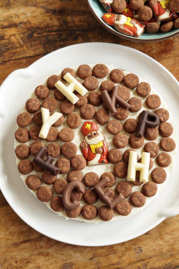 No-Bake Sinterklaas Monchoutaart