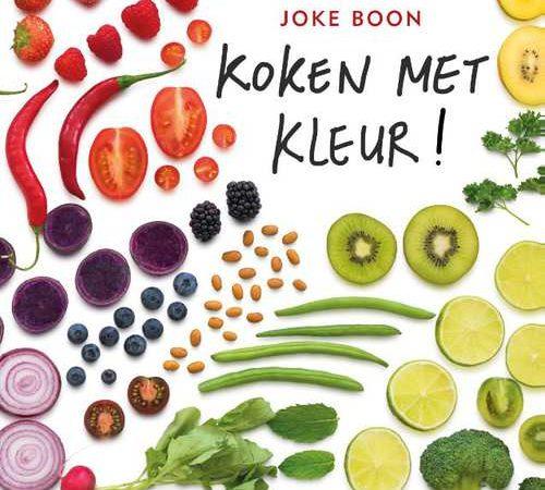 Recensie: Koken met Kleur! van Joke Boon