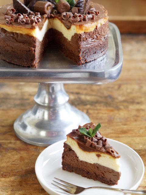 Recensie: Cheesecake + Recept After Eight Cheesecake